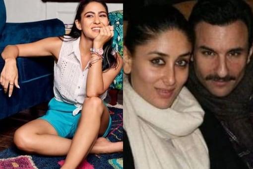 Sara Ali Khan, Saif Ali Khan and Kareena Kapoor