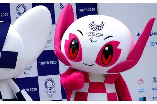 Tokyo 2020 Paralympic mascot Someity (AP)