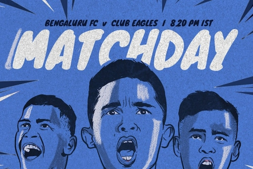 Bengaluru FC face Club Eagles in the AFC Cup playoff (Twitter)