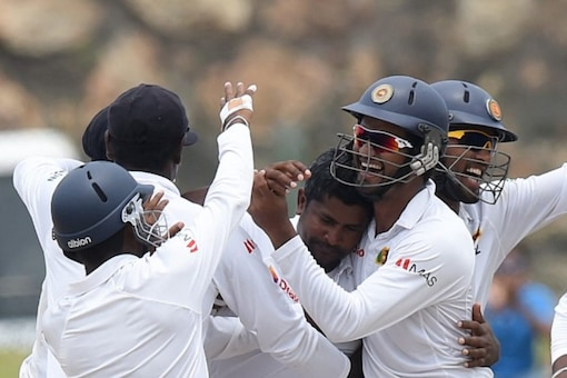 The victory at Galle is one of the greatest for Sri Lanka. (AFP Photo)