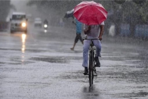 """Only northeast Delhi has recorded """"large deficit"""" rainfall, 154mm against the normal of 491.6mm since June 1. (Image: PTI)"""