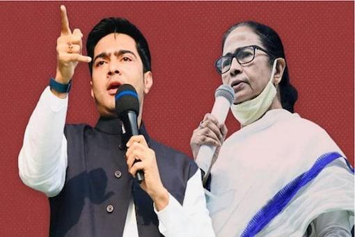 Mamata and her nephew Abhishek Banerjee