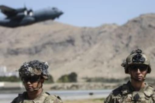 US defence officials said that they had to juggle the need to evacuate people with the task of destroying military gear before their exit from Afghanistan (Photo: AP)