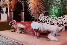 Bride and Groom Doing Push-ups at Wedding Give Internet 'Couple Goals'