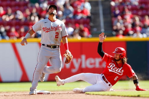 Reds Rout Nationals 9-2 To Keep Slim Playoff Hopes Alive