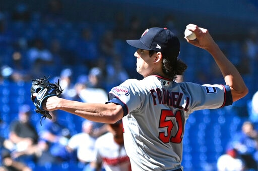 Berríos Tops Old Team, Jays Score 5 In First, Beat Twins 5-3