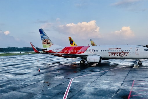 The Centre invited bids for disinvestment in the national airline in 2020.  (Image source: Twitter/Air India Express)