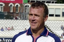 England Legend Alec Stewart Dons The Role of Umpire in a County Match