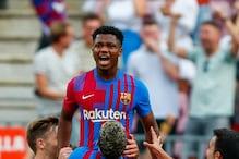 Ansu Fati Returns in Messi's No.10 Shirt to Help Barcelona Ease Pressure on Koeman