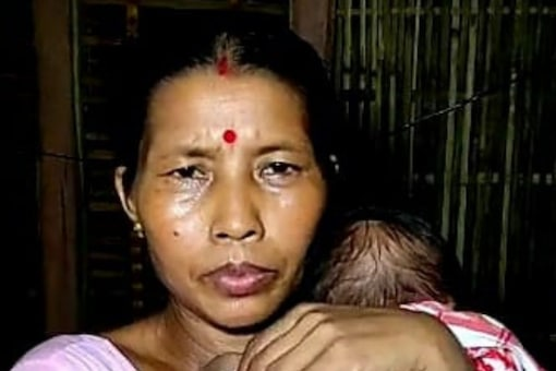 Minati with her two-month-old daughter survived the boat tragedy in Assam on September 8.