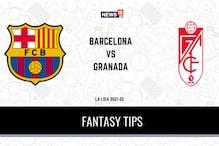 FCB vs GRD Dream11 Team Prediction: Check Captain, Vice-Captain and Probable Playing XIs for Today's La Liga 2021-22 Barcelona vs Granada match, September 21, 12:30 AM IST