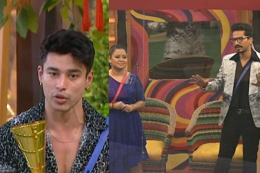 Contestants performed their skits in front of Bharti and Harsh