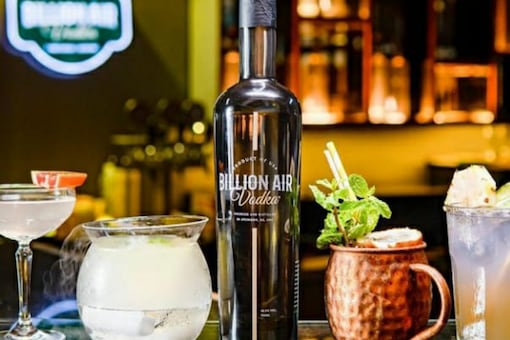 With an elegant, long-necked bottle, Billion Air, which retails for Rs 1,990 in Mumbai, certainly looks the part.