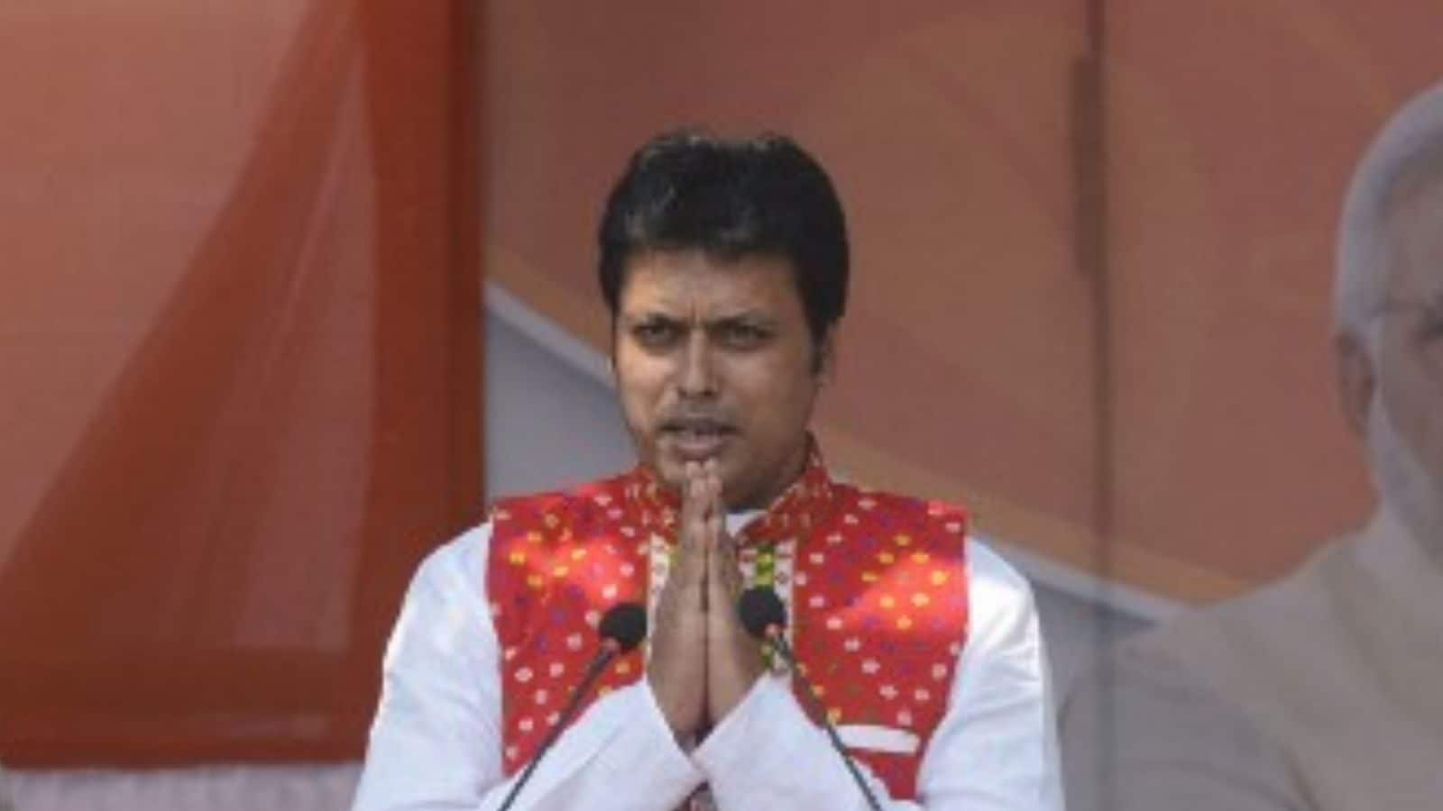 'Don't Fear Contempt of Court… Police is Under Me': Tripura CM Revisits His Old Town — Controversy