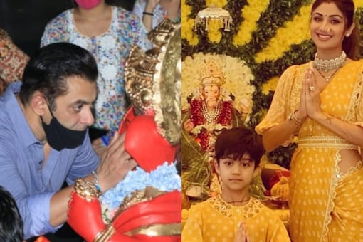 Bollywood stars celebrate the festival of Ganesh Chaturthi every year with great zeal and enthusiasm.