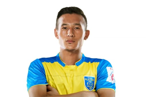 Chencho Gyeltshen has signed a contract with Kerala Blasters. (KBFC Photo)