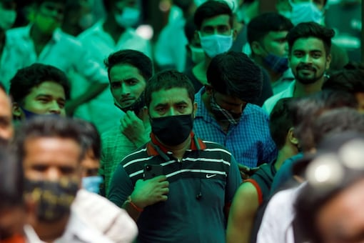 Mumbai has reported over 28 per cent of the total Covid-19 cases it had recorded in the entire month of August in the first six days of this month, as per the civic data. (Reuters)