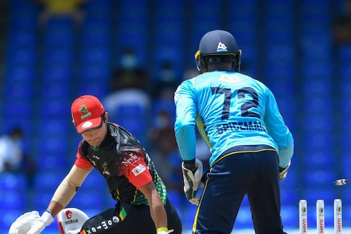 The Saint Lucia Kings repeated their performance from 24 hours earlier and once again recorded a win over the St Kitts & Nevis Patriots in their 2021 Caribbean Premier League (CPL) encounter. Credit: CPL via Getty Images.