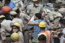 Delhi Building Collapse Incident: Rescue Operation Underway in Sabzi Mandi Area. Heart-wrenching Photos