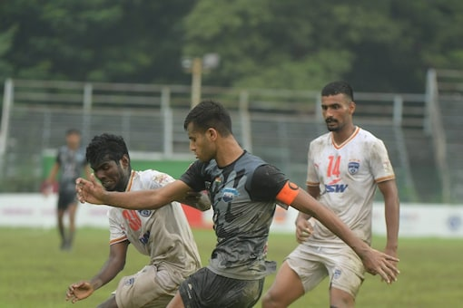 Delhi FC and Bengaluru FC played out a draw. (Durand Cup Photo)