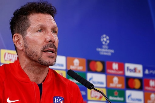Diego Simeone says there's no room for error vs AC Milan (Twitter)