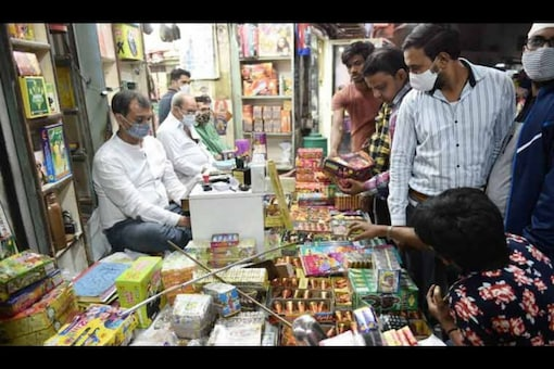 Chandigarh imposed ban on sale, bursting of firecrackers. (File photo: PTI)