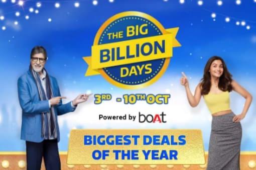 Flipkart Big Billion Days sale will go on till October 10.