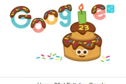 Google is on mission of making the world's information accessible to everyone remains the same. (Image: Screenshot of Google Doodle)