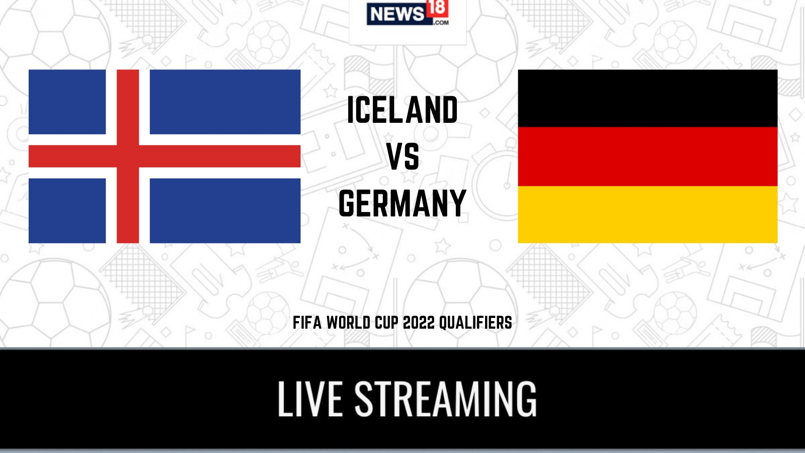 2022 FIFA World Cup qualifiers Iceland vs Germany LIVE Streaming: When and Where to Watch Online, TV Telecast, Team News