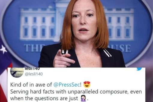 Psaki was fielding questions from reporters on President Biden's stance on abortion in light of the US Supreme Court's decision to not act on Texas' new abortion law. (Image: REUTERS)