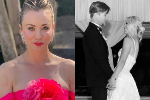 Kaley Cuoco and Karl Cook married in 2018 in San Diego, California.