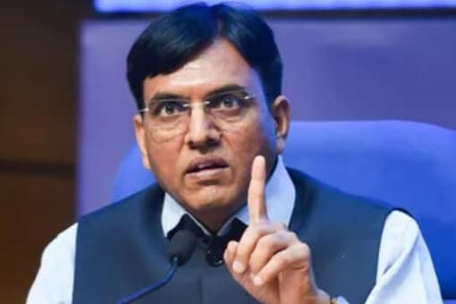 Health Minister Mansukh Mandaviya said on Oct 14 that announcements will be made when India achieves the target of administering 100 crore COVID-19 vaccine doses(File photo: PTI)