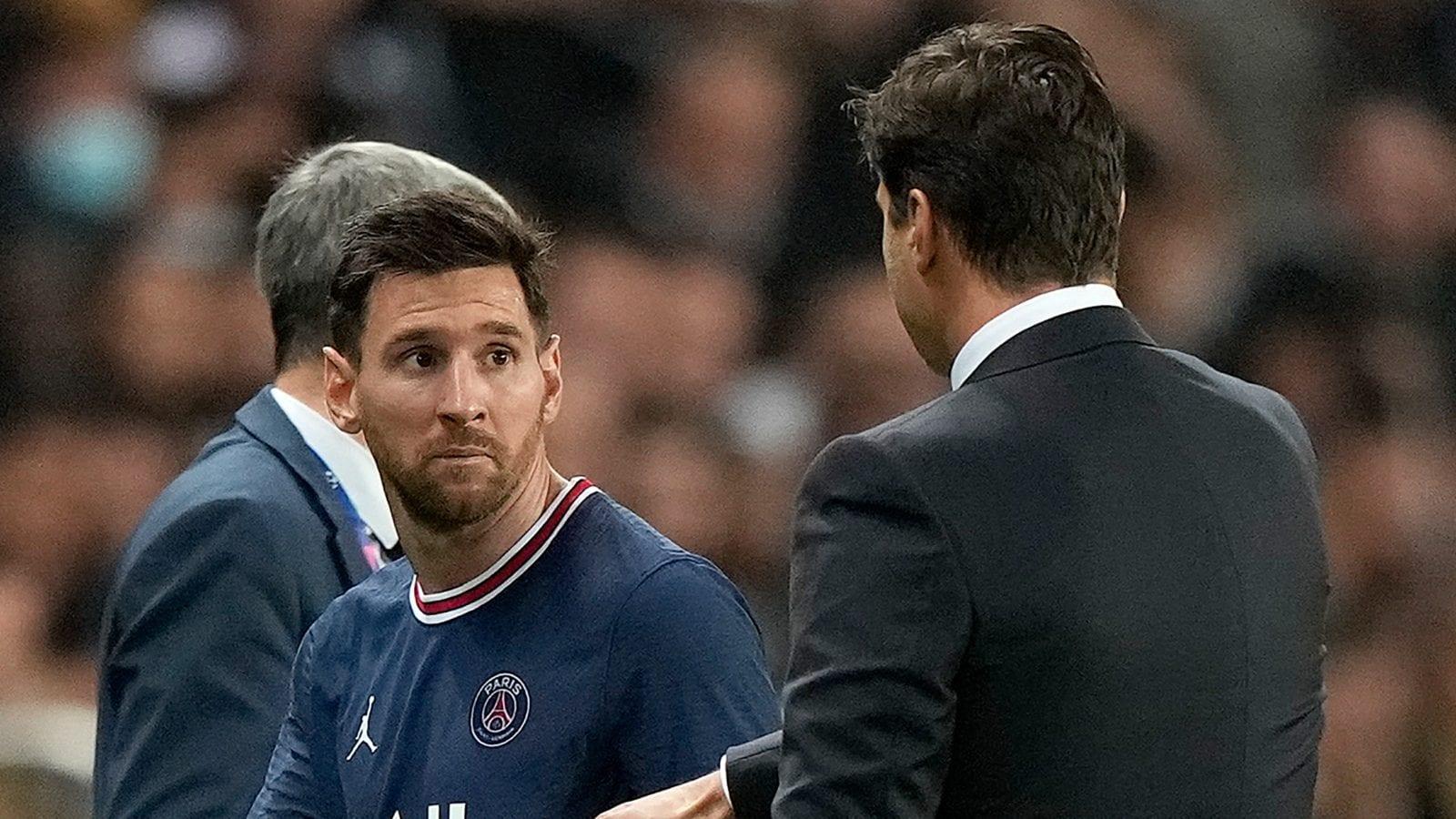 Coach Mauricio Pochettino Plays Down Decision to Substitute Lionel Messi in PSG Win