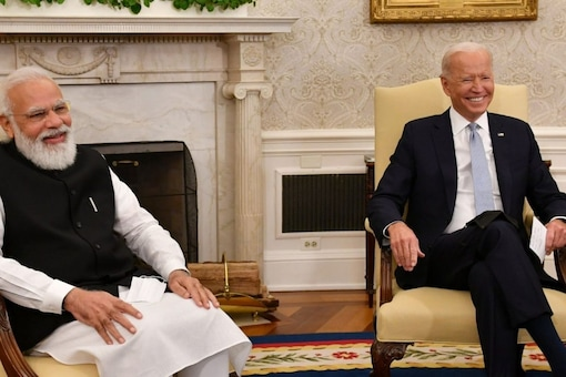 Prime Minister Narendra Modi's US visit was important as it was the first face-to-face delegation-level talks between the two countries, writes Kanwal Sibal. (Image: @PMO India/Twitter)