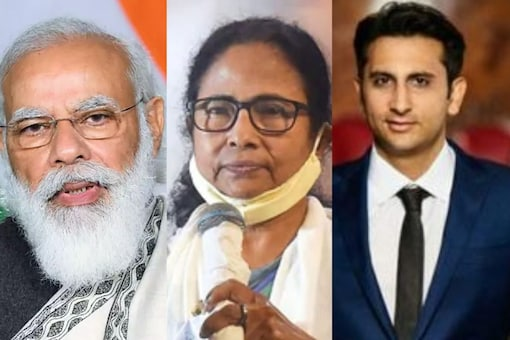 PM Modi, Bengal CM Banerjee, and SII CEO Poonawalla were named in TIME's 100 most influential people list. (Images: PTI)