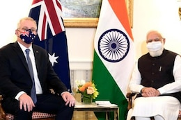 In Modi's First In-person Bilateral Meet After Covid, 'Trade, Defence & More' Discussed with Australia's Morrison