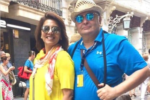 Neetu Kapoor remembered Rishi Kapoor with a heartwarming post
