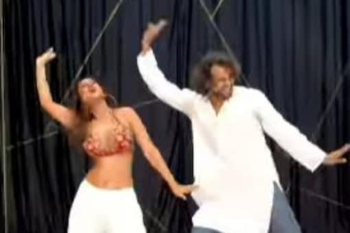 Actress Nia Sharma shared a video of herself, dancing to her recently released song Do Ghoot.