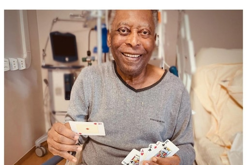 , Pele Playing Cards, Smiling as He Takes 'Several Steps' Towards Recovery After Surgery,
