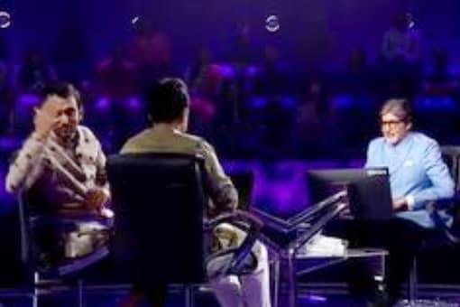 Pratik Gandhi, Pankaj Tripathi and Amitabh Bachchan in KBC 13