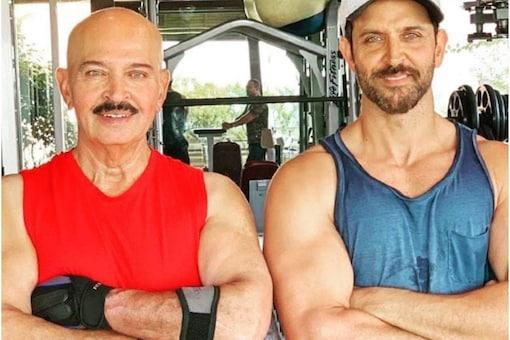 Hrithik Roshan made Bollywood debut with his dad Rakesh Roshan's Kaho Naa...Pyaar Hai,. (Image: Instagram)