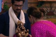 Bigg Boss OTT: Raqesh Bapat Makes Ganpati Idol in BB house; Mother Carves One Back Home