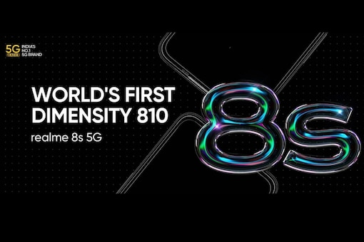 Realme 8s 5G's official launch date in India remains unclear.