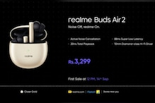 Realme Buds Air 2 TWS Earbuds Get Closer Gold Colour Option, Priced at Rs 3,299