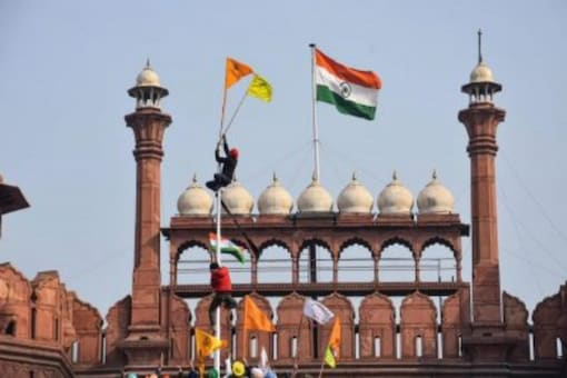 The agitation against farm laws at Red Fort illustrates how secessionist groups have perfected the art of blending in with others, and putting the Indian state on a difficult tightrope walk, writes Abhishek Banerjee (File photo: PTI)