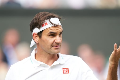 Roger Federer said his rehab was on track. (Reuters Photo)