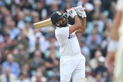Rohit Sharma has finally ended his wait for an overseas Test century. (AFP Photo)