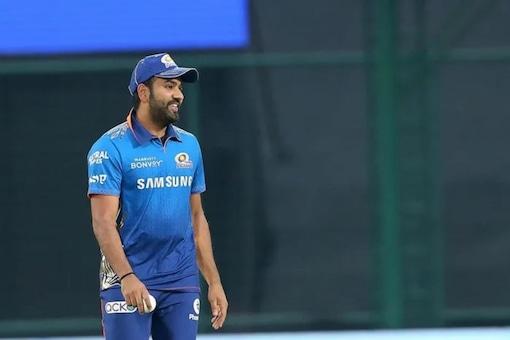 मुंबई इंडियंस के कप्तान रोहित शर्मा।  (आईपीएल फोटो)