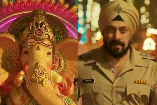 Salman Khan in 'Vighnaharta' song from Antim: The Final Truth