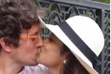 Shriya Saran and Andrei Koscheev Spotted in Mumbai, Couple Kiss for the Paparazzi